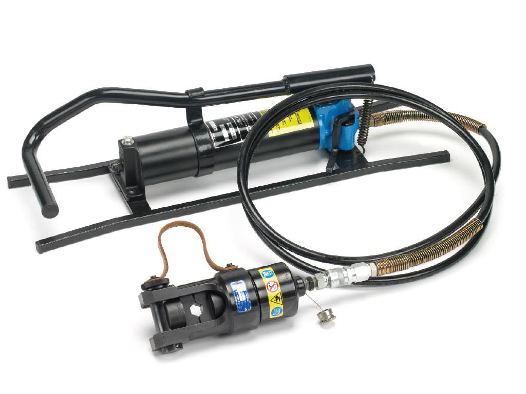 Pressa oleodinamica per l 39 installazione di connettori for Pressa per tubi idraulici usata